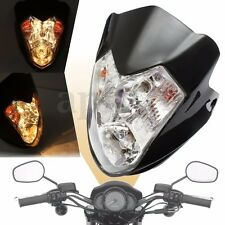 Motorcycle Bike ATV Headlight Fairing Light Dual Street Fighter Turn Signal Bulb