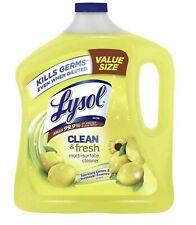Lysol Lemon Clean Fresh Multi Surface Cleaner, Lemon & Sunflower90 oz.Value Size
