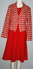 LING GO Paris Red Dress Suit
