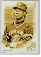 Roberto Alomar 2019 Allen and Ginter 5x7 Gold #67 /10 Blue Jays