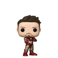 Funko POP! Avengers Endgame Iron Man Tony Stark with Infinity Gauntlet NYCC 2019