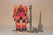 "1999 Bandai Gundam 4"" Sa-S Char's Pink Zaku Ii figure Complete With Weapons"