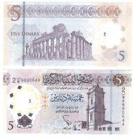 Libya - 5 Dinars 2021 UNC Lemberg-Zp