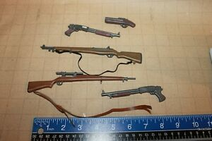 1/6 Scale 1:6 for 12 inch action figure weapon lot 1:6 #608 brown riifle gun