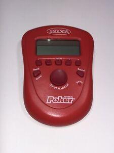 Radica Pocket Poker Handheld Electronic Game 2006 Draw & Deuces Tested