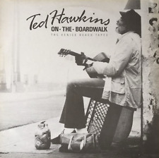TED HAWKINS ‎- On The Boardwalk: The Venice Beach Tapes (LP) (VG++/G++)