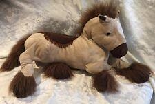 "50"" Jumbo Circo Horse Brown Stuffed Plush Large Pony Tan Brown Animal Alley"