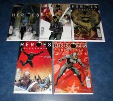 HEROES VENGEANCE #1 2 3 4 5 A set 1st print set RARE TITAN PRELUDE TO REBORN NBC