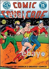 COMIC CAVALCADE 1 COVER PRINT Flash Green Lantern Wonder Woman