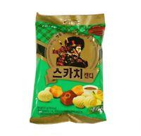 Korean Lotte Premium SCOTCH TRIO CANDY 157g Coffee Butter Banana 3flavors