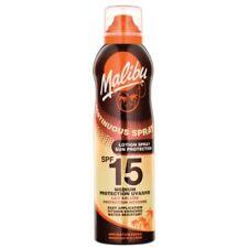 Malibu Non Greasse Continuous Spray Dry Oil SPF 15 Medium Sun Protection 175ml