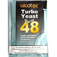 Alcotec 48 Turbo Yeast Extreme bargain 100 Packs Fast Shippind UK