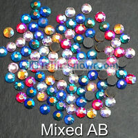 160 DMC Gem Mixed Joblot Iron On Hotfix Rhinestone SS20=4.8 mm Card//Shoe//Handbag