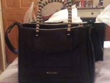 Bvlgari Black Leather Bags & Handbags for Women