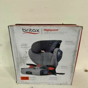 Britax Highpoint 2 Stage Belt Positioning Booster Car Seat. 40-120 lbs Open Box