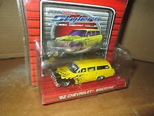 62 Chevrolet biscayne wagon R/T PRO RODZ MAISTO 1:64 YELLOW ltd pro stylers