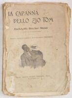 PRIMI 1900 BEECHER LA CAPANNA DELLO ZIO TOM INCISIONI