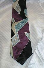 Mens Necktie BUGATTI Neck wear  Stylish  100% Italian Silk Neckwear