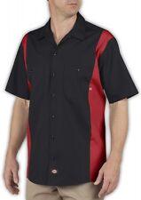 Big and Tall Men's Dickies Two Tone Work Shirt 2XL 3XL 4XL 5XL LT XLT 2XLT 3XLT