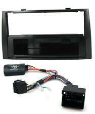 Peugeot 308SW Piano Black Single Din Radio Facia Adaptor and Stalk Adaptor