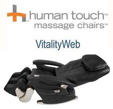 Showroom HT-5320 Black Human Touch Massage Chair Recliner + 5 Year Warranty