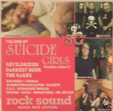 SUICIDE GIRLS-DEVILDRIVER-MATRA-COD cd promo Italy