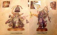 Dark Imperium Death Guard Blightbringer & Plaguecaster Brand New unassembled.
