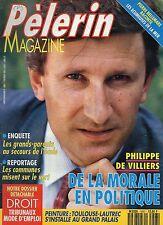 Pèlerin MAGAZINE N°5697 PHILIPPE DE VILLIERS  1992
