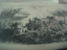book plate 1897 famous battle - webb's attack