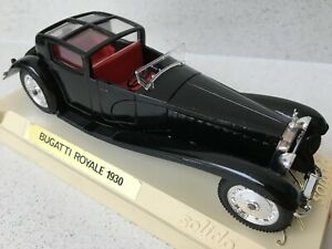 Bugatti Royale 1930 - Black, Solido Age D'or - Boxed