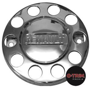 "1 Pair O-Trim 10 Stud 22.5"" Nut rings for Renault stainless steel"
