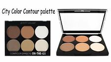 City Color Contour Effects On-The-Go Palette- 6 shades to highlight & contour!