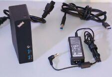 Station Accueil LENOVO ThinkPad Basic USB 3.0 Dock DL3700-ESS Portable Win 10