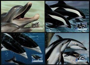 Australien 2009 - Mi-Nr. 3205-3208 - 4 Maxikarten - Wale / Whales