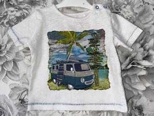 Boys Age 6-9 Months - Tu Sainsbury's T Shirt