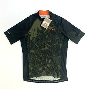 Giro Chrono Expert Jersey Men's Medium Olive Floral New with Tags