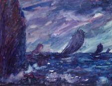 Peter Winter-Heidingsfeld Allach Ostsee Rügen Segelboote Segeln Expressionismus