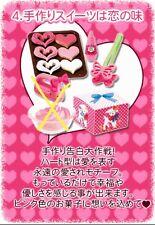 RARE RETIRED Re-Ment Miniature Flirty Pink #4 Miniature Heart Shaped Cookies A74