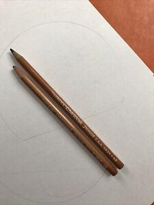 """Vintage U.S.A. """"Nobema"""" Charcoal Pencil 4B 3837 6B 3839"""