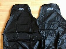 FORD NEW PREMIUM CAR SEAT COVERS PROTECTORS /100% WATERPROOF / BLACK