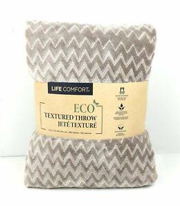 Life Comfort Urban Ultimate Eco Textured Throw/Blanket 60 x 70 in.