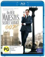 On Her Majesty's Secret Service (2012 Re-release) - Blu Ray Region B Free Shippi