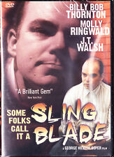 Some Folks Call It a Sling Blade (DVD, 2002) New Please read description