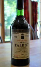 1977 Grand Cru Classe CHATEAU TALBOT Saint-Julien