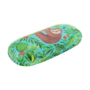 Sass & Belle Sloth & Friends Hard Glasses Spectacle Case With Cloth