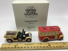 Dept 56 Cic ~ Transport Set of 2 ~ Box 59838