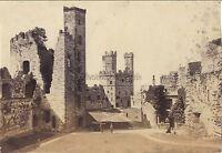 Ruines UK Vintage Albumina Ca 1880