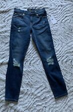 NWT 7 Seven For All Mankind Size 24 The Ankle Skinny supper skinny Jeans