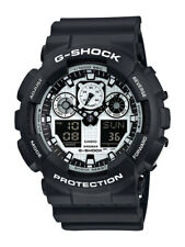 Casio G-Shock Uhr GA-100BW-1AER Analog,Digital Schwarz