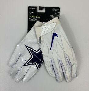 NEW Nike Dallas Cowboys Superbad Football Gloves Men's Size XXXL 3XL CK2393-169